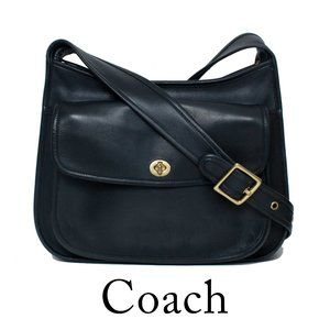 Coach Taft VINTAGE Black Shoulder Crossbody Bag